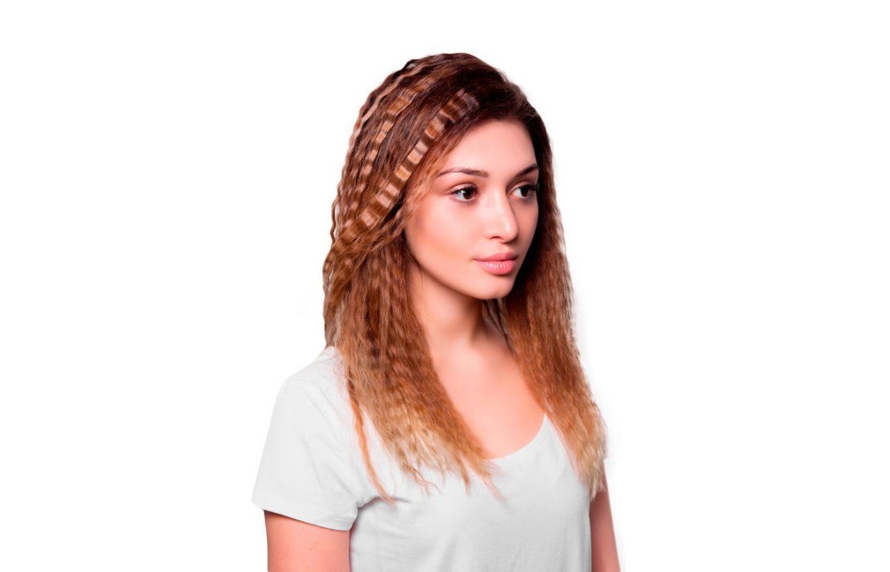 Прически с гофре на разной длине волос снова в моде