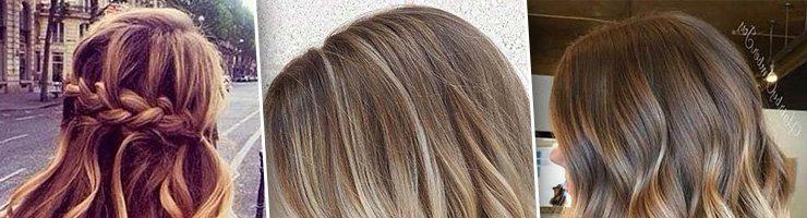 Красивое окрашивание для русых волос (27 фото)