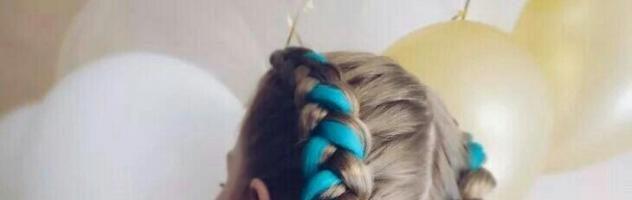 Цветные косы (28 фото)