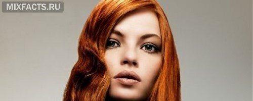 Медно-каштановый цвет волос (26 фото)