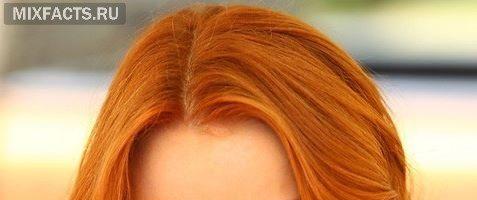 Каре на рыжий цвет волос (28 фото)