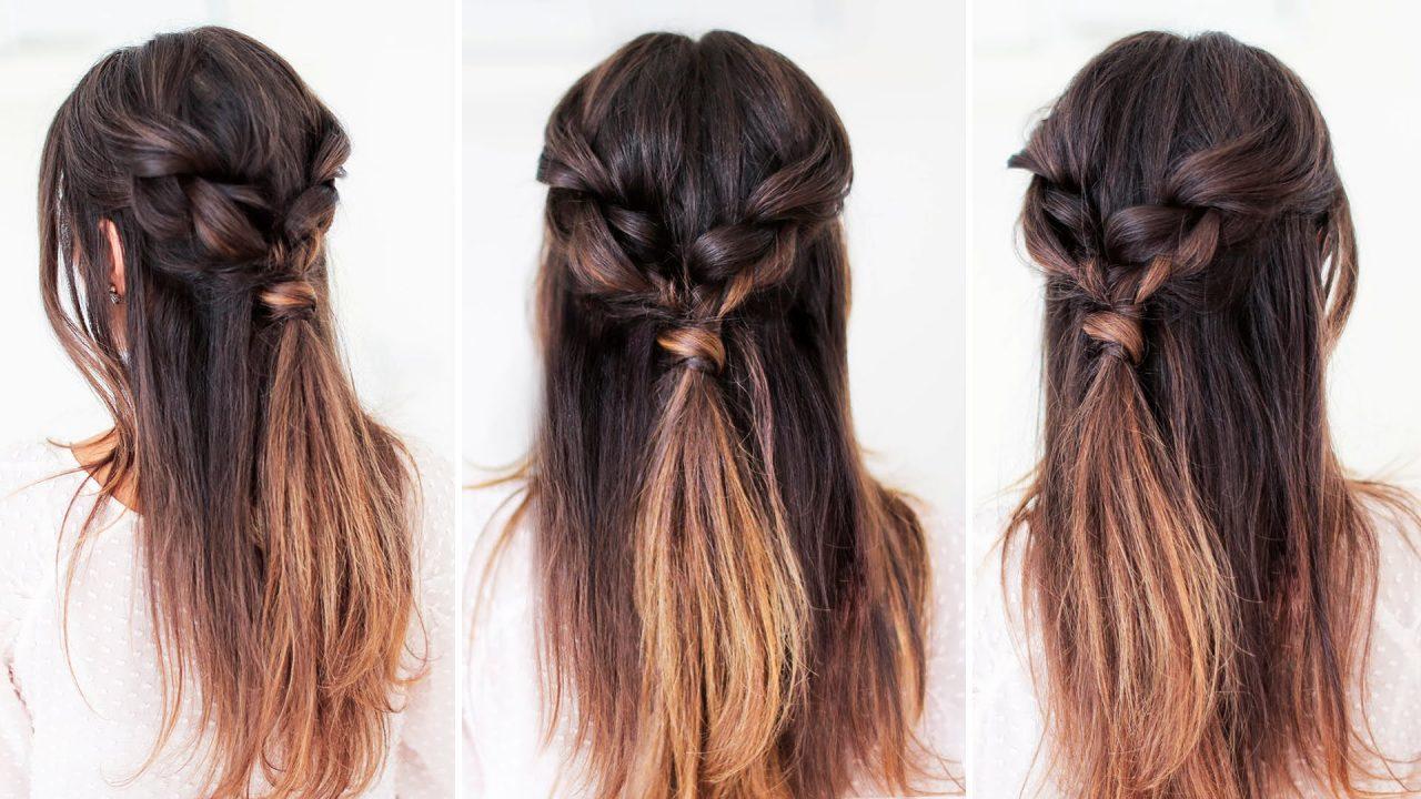 Поэтапные инструкции, как создаются простые и красивые прически на длинные волосы