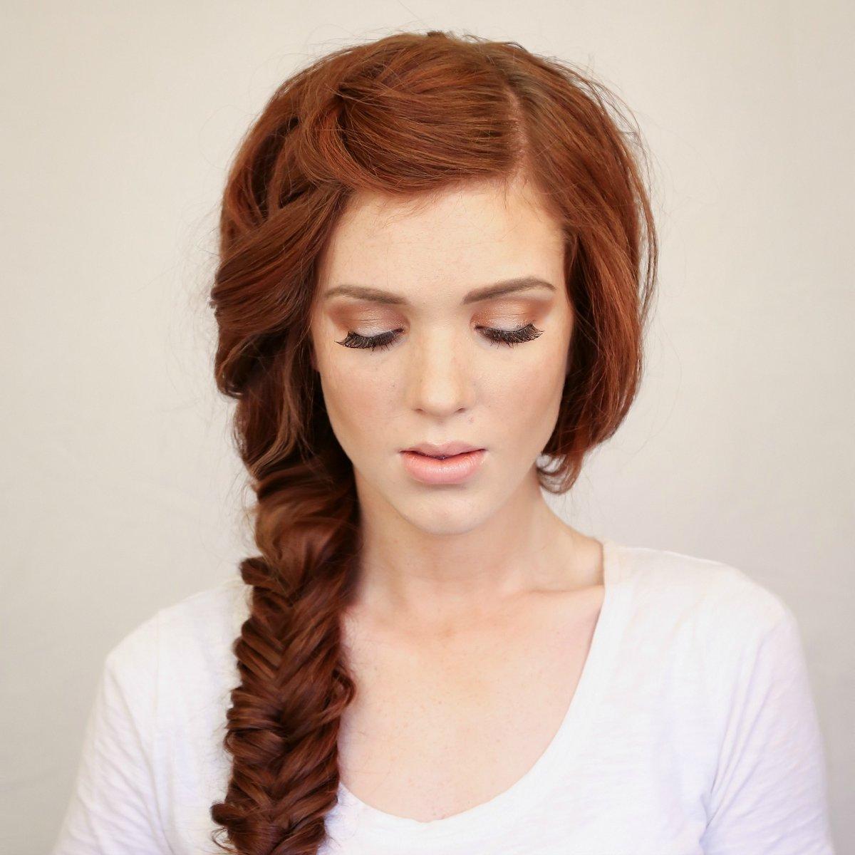 Создаем быстро и легко прически на каждый день на длинные волосы