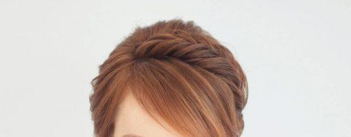 Трудный выбор: прическа на длинные волосы с челкой