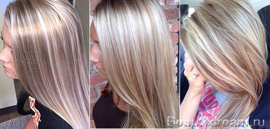 Мелирование на светлые волосы (30 фото) 💇 Для Роста Волос мелирование на темные волосы фото