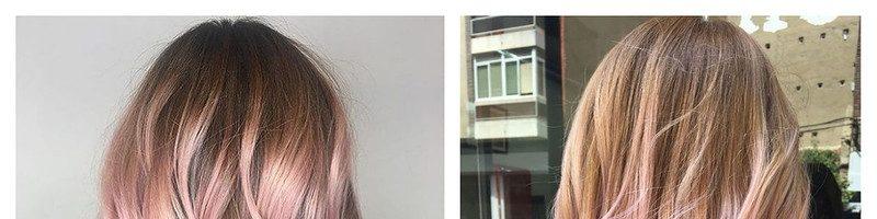 Пепельно-розовый цвет волос (32 фото)