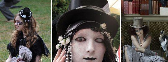 Прически для девочек на Хэллоуин (36 фото)