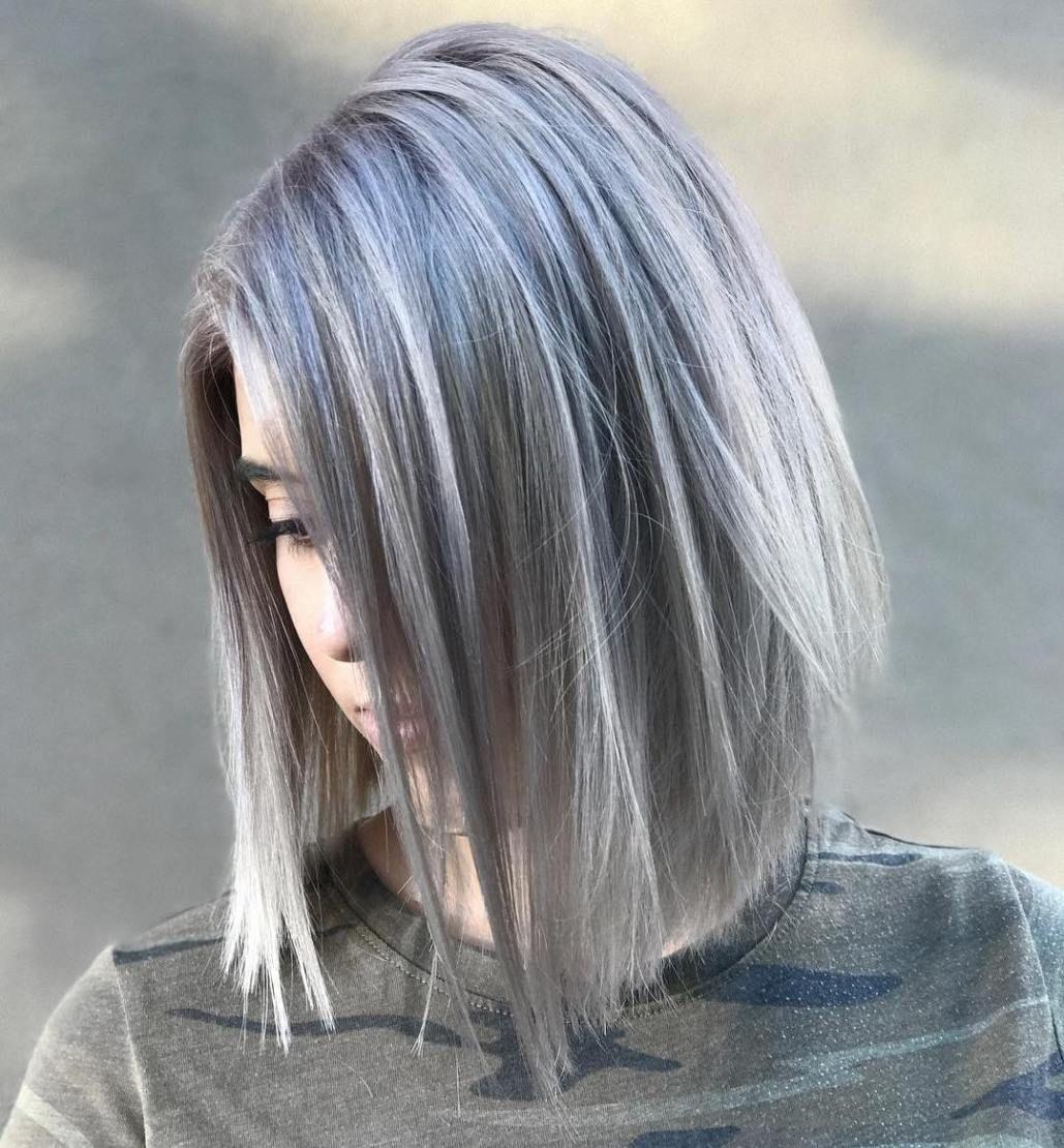 Пепельно-черный цвет волос (30 фото)