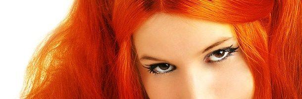 Огненно-рыжие волосы (31 фото)