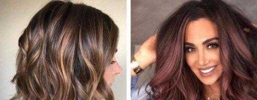 Окрашивание 3d на темные волосы (32 фото)