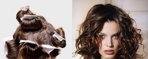Как накрутить волосы на тряпочки? (14 фото)