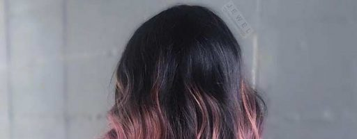 Розовое омбре (33 фото)