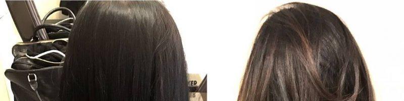 7д окрашивание волос фото до и после (30 фото)