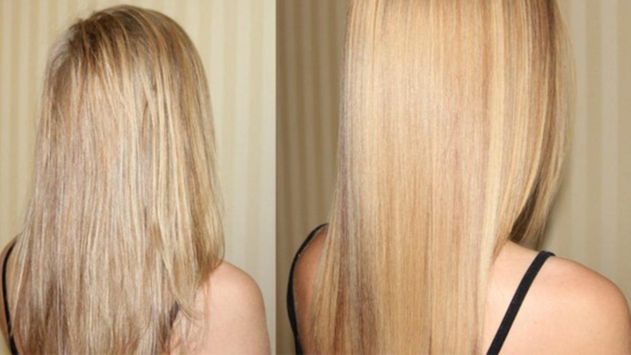 Осветление волос лимоном: «до» и «после» (20 фото)