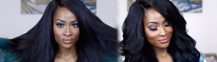 Окрашивание темных волос (31 фото)