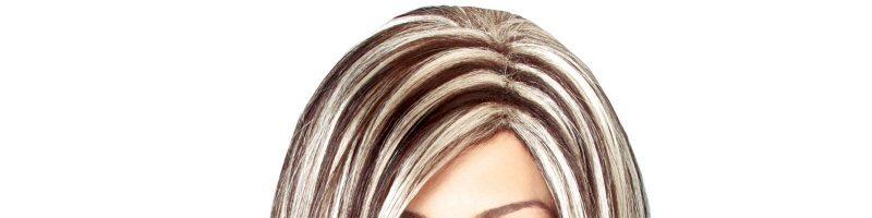 Светлые пряди на черных волосах (28 фото)