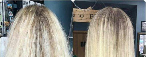 Осветление волос содой: «до» и «после» процедуры (20 фото)