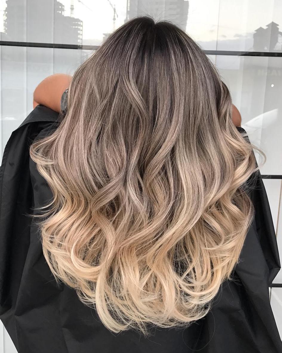 идеальньных условиях окрас волос омбре на средние волосы фото ладонях тыльной