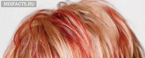 Рыжее мелирование на темные волосы (30 фото)