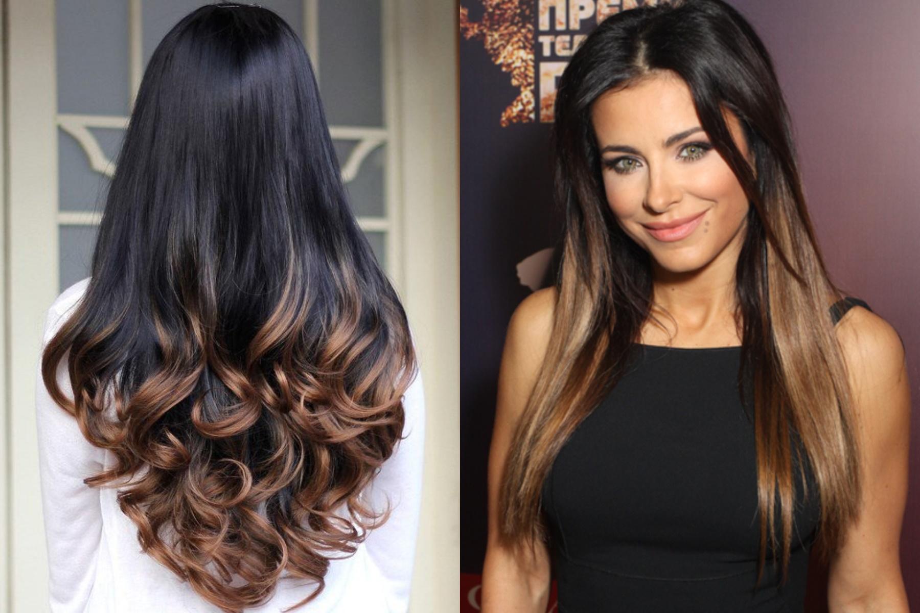 фото окрашивания омбре на темные волосы бренд сильно уступает