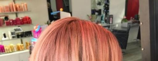 Персиковый цвет волос (25 фото)