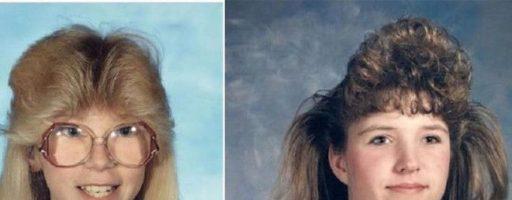 Женские прически 80-х годов (32 фото)