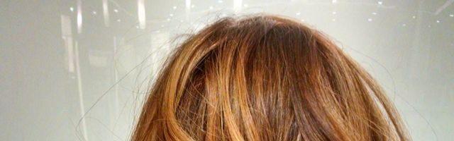 Растяжка рыжего цвета на волосах (30 фото)