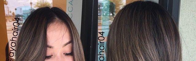 Темно-пепельный цвет волос (22 фото)