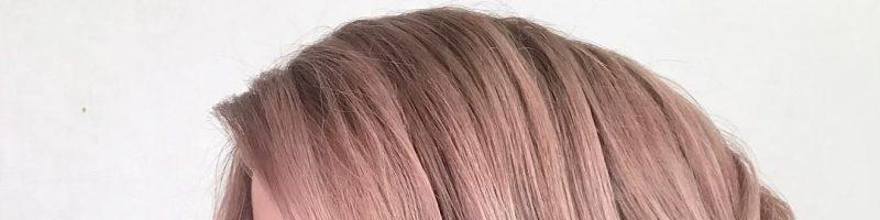 Пудровый цвет волос (20 фото)