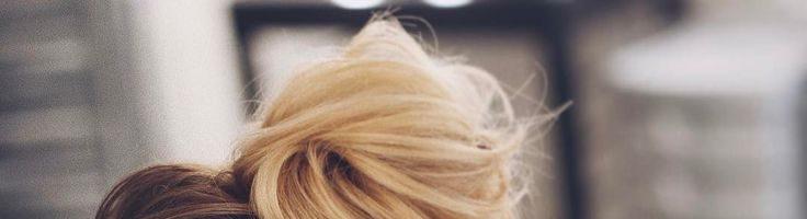 Подробная инструкция, как сделать на волосах пучок