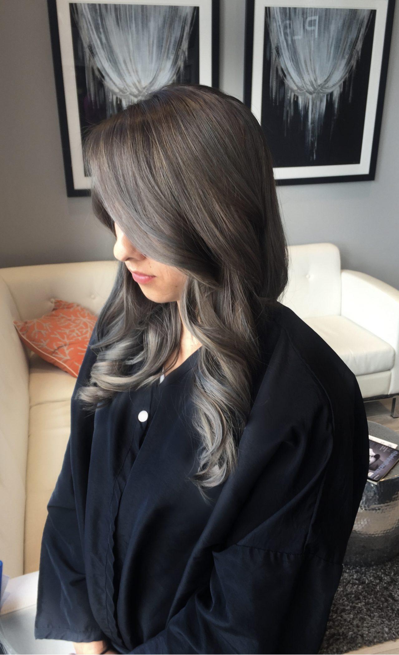 Растяжка цвета волос от темного к светлому (30 фото)