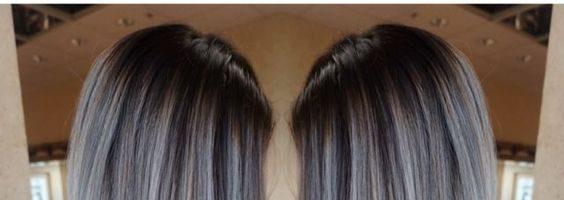 Пепельный цвет волос с мелированием (26 фото)