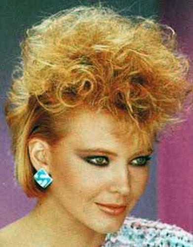 Женские стрижки стиль 80 годов
