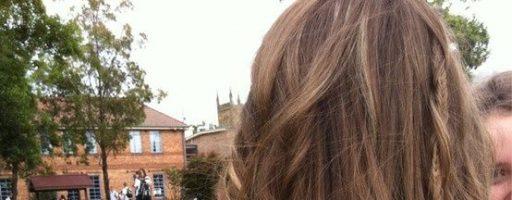 Русые волосы: фото со спины (30 фото)