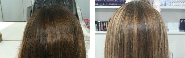 Редкое мелирование на темные волосы (30 фото)