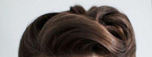 Укладка волос в ретро стиле (27 фото)
