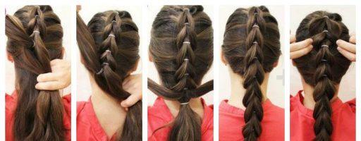 Как научиться заплетать косы ребенку пошагово? (30 фото)