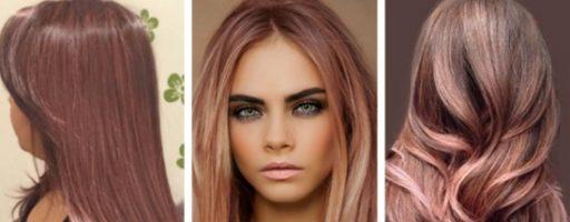 Цвет волос розовое дерево (28 фото)