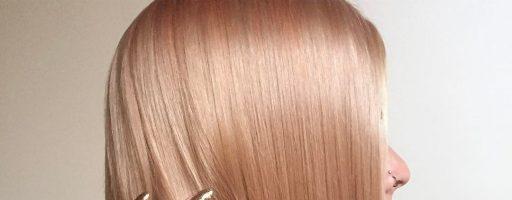 Цвет волос «розовое золото: яркий акцент во внешности» (20 фото)