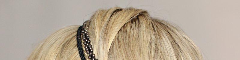 Греческая резинка для волос (20 фото)