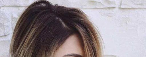 Окрашивание волос темные корни светлые концы (32 фото)
