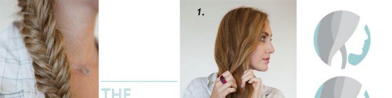 Плетем косы сами себе (20 фото)