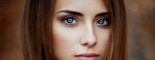 Подбираем самый подходящий цвет волос для голубоглазых