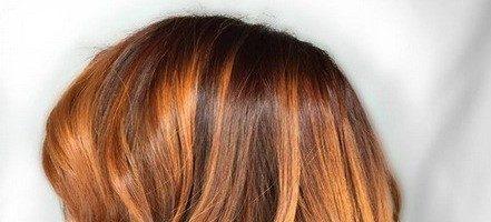 Балаяж на волосы средней длины (21 фото)