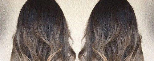 Омбре окрашивание на длинные волосы (28 фото)