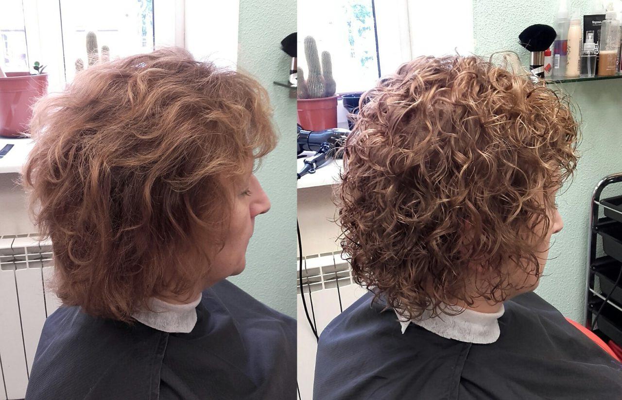 Биозавивка на средние волосы (30 фото)
