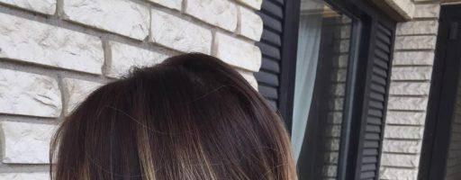 Покраска балаяж на средние волосы (30 фото)