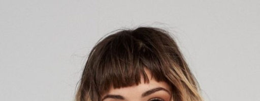 Омбре окрашивание волос с челкой (23 фото)