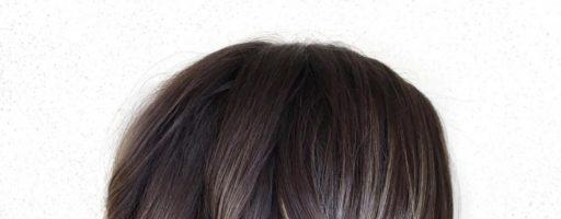 Балаяж на темные короткие волосы (25 фото)