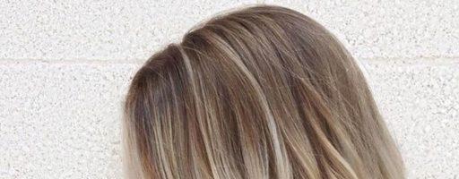 Балаяж на русые короткие волосы (30 фото)